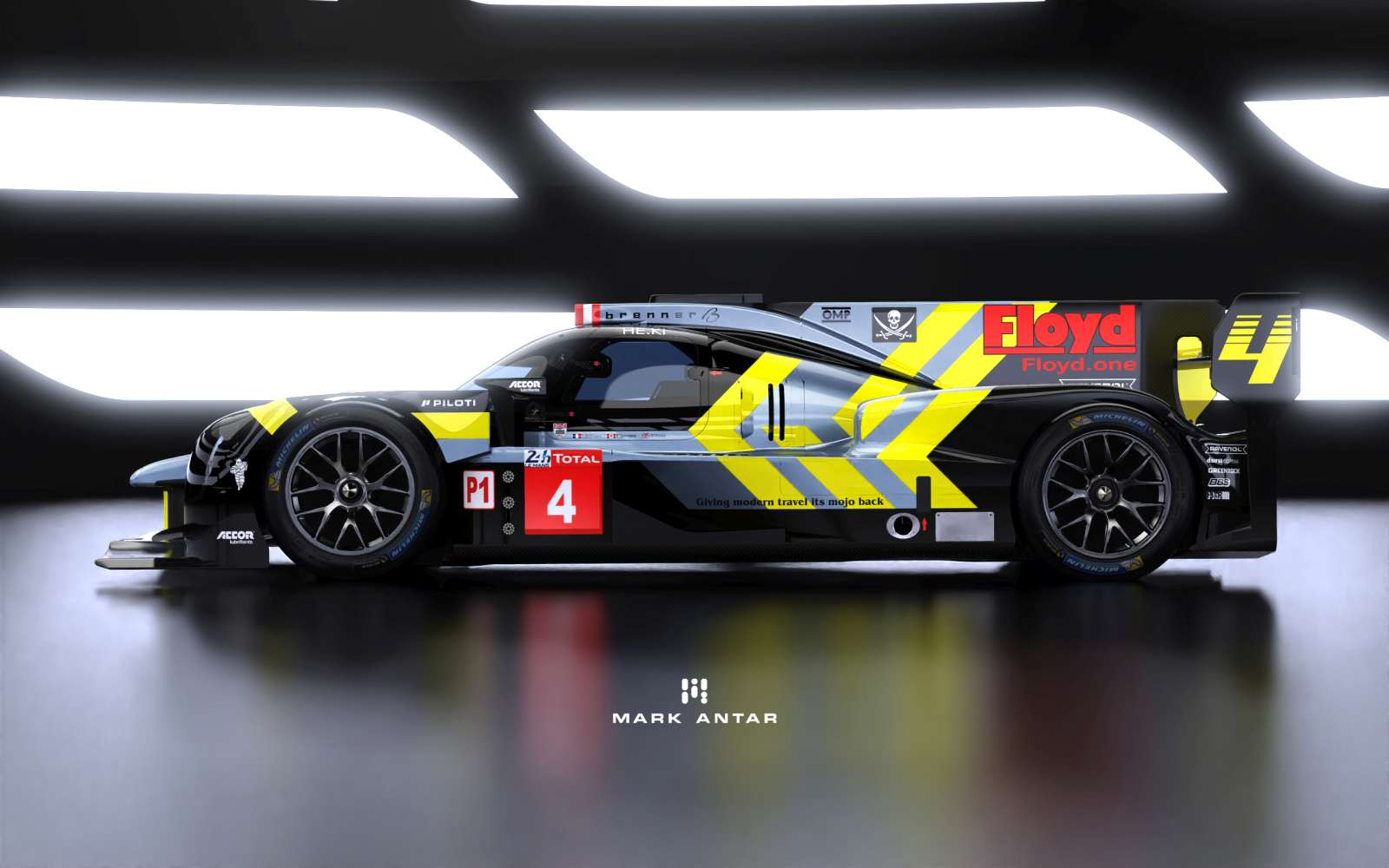 ByKOLLES unveils new car livery for the 24 Hours of Le Mans 2020